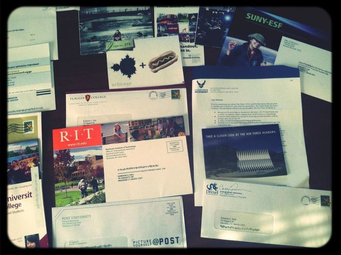 So Many Colleges To Choose From