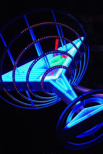 Las Vegas Neonlights Neon Martini