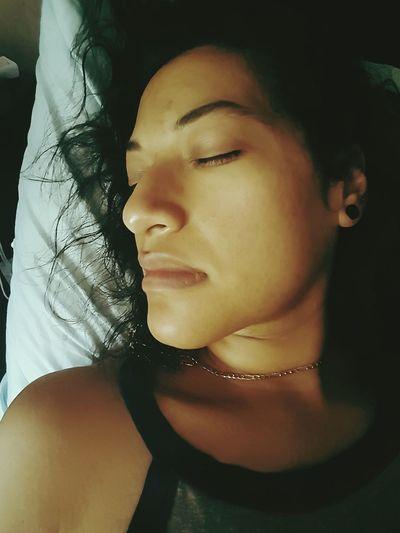 what do you dream of when you sleep? Model Native American Indian Puerto Rican Mixed Girl Curls Ear Gauge Ear Tunnel Young Women Beautiful Woman Portrait Females Headshot Beauty Women Human Face Close-up Human Lips The Portraitist - 2018 EyeEm Awards