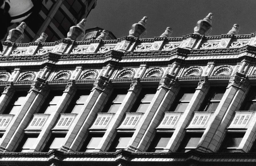 I Love My City Chicago Light And Shadow Urban Landscape Architectural Detail Black And White Seeing The Sights Wrigley Building