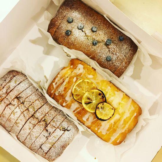 Earl Grey, Lemon and Thai Milk Tea Cake Cake Poundcake EarlGrey ThaiMilkTea Lemon Handmade Interns Bake