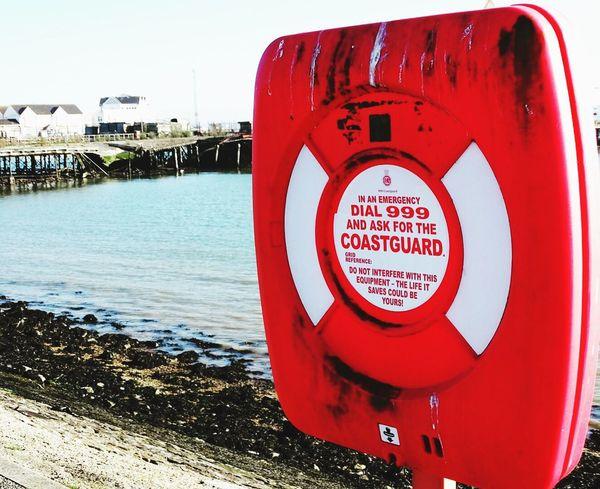 Lifeguard  Ring Red Sea Outdoors Water Southampton Docks Sony HX400v Southampton