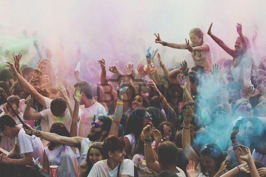 Borja Baragaño Photography Canon7d  Party Music Holi Party Festival Photoshop