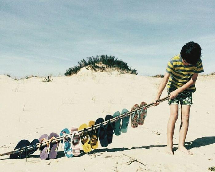 Yaz geliyor dediler :)) Summer Slippers Sandals Beach Children Sandaletler Yaz Kumsal Anticipated