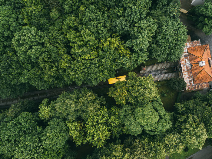 Oldest funicular in lithuania. drone
