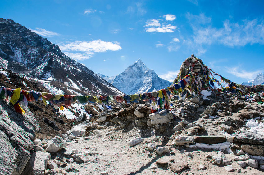 Trekking Nepal Lost In The Landscape Nepal Trekking Everest Base Camp Trek Mountain Mountain Range Snowcapped Mountain Trekking In Nepal Be. Ready.