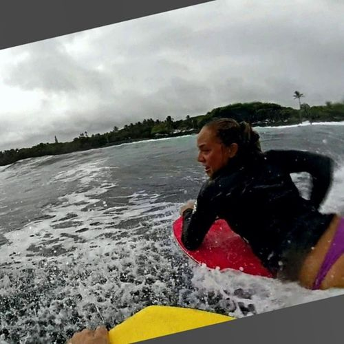 Party wave 🎉🎈 Funinthesun  Puna Surfergirls Naw Todayweis Sponjahs Getwet 🌊👙 Lifesbetterinabikini Goproproof Deadtrees Goprohero3 Hi_life Saltyhair Bigislandlove Clouds Aloha Adventures