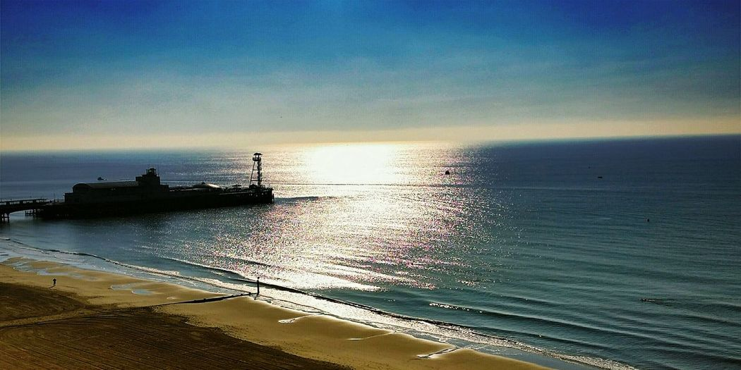 Bournemouth Beach Bournemouthpier Taking Photos By The Sea Good Morning