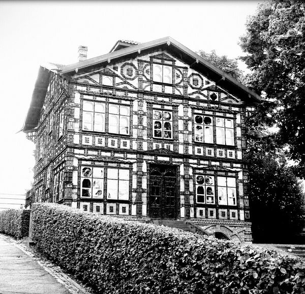 Junkerhaus Lemgo No People Outdoor Photography Blackandwhite Historic Museum Architecture Fachwerk Historisch