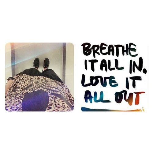 Breathe it a in, love it a out. Ootd Poprock Quotes Adidas love