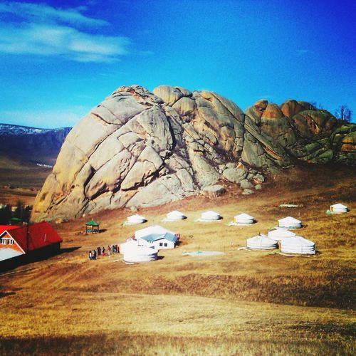 Mongolia Sky Beauty Nature