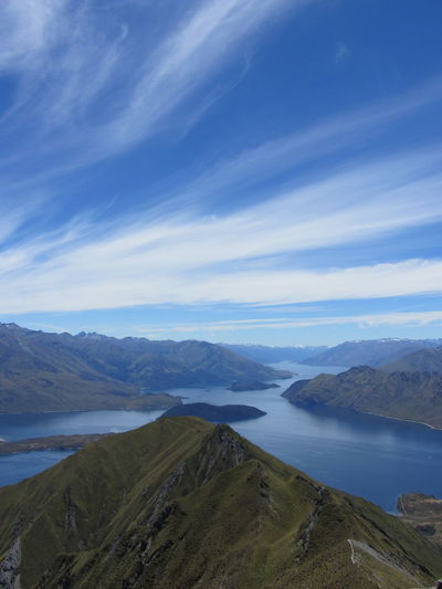 Beauty In Nature Cloud - Sky Day Lake Lake Wanaka Landscape Mountain Mountain Range Nature New Zealand No People Outdoors Scenics Sky Tranquil Scene Tranquility Water