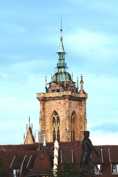 Architecture Travel Destinations Travel City Tower No People Cloud - Sky Colmar, Alsace, France