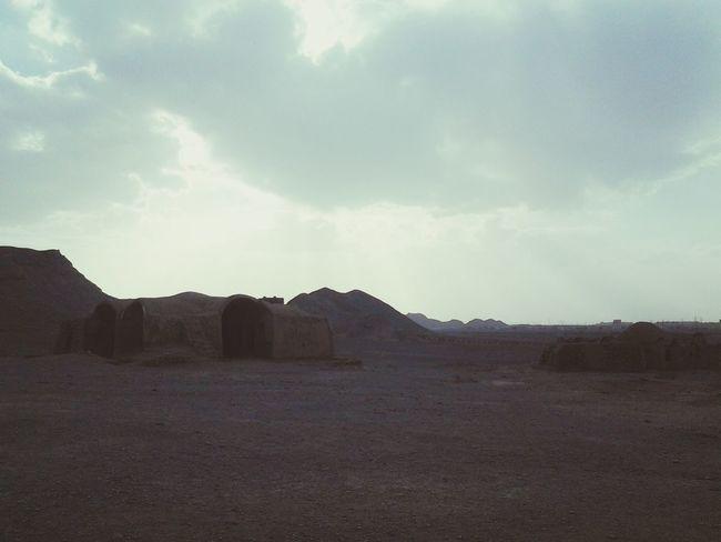 Iran♥ Mustseeiran Yazd Towerofsilence Zoroastrian Heritage Site