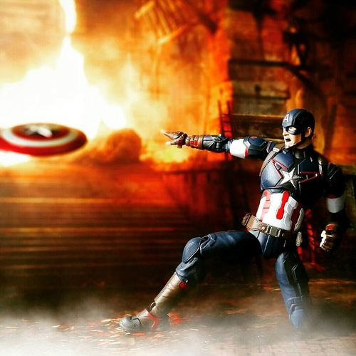 Shield Boomerang Toys Action Figures Toy Photography BANDAI Shf Sh Figuarts Marvel Age Of Ultron Tamashiinations Captain America