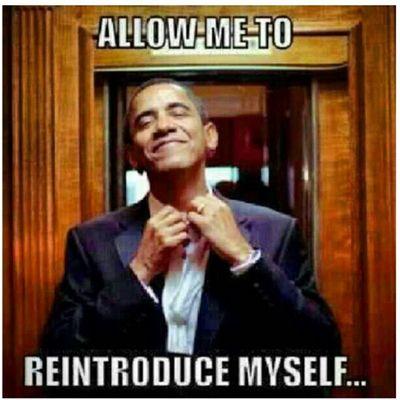 My presidents BACK! Swag Presidential President Election2012 GroveStreetParty GotReal gangnamstyle gangnam royalty relief Trueeeee TooSoon TooFunny Funny Romney Obama4YaMomma Obama