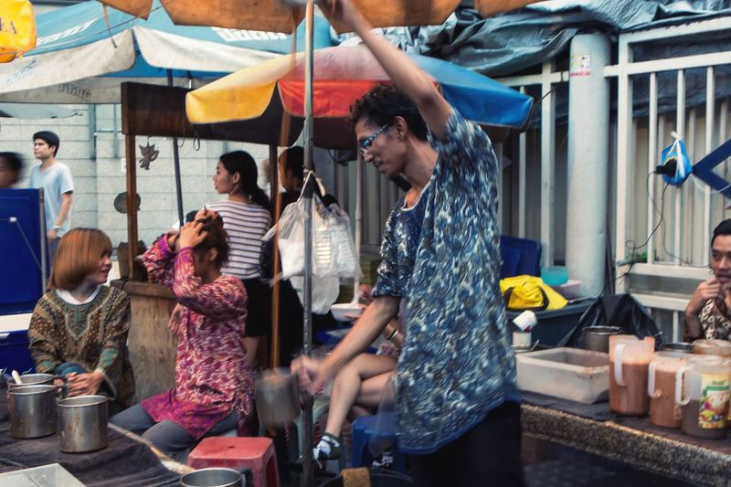 Spotted In Thailand Hello World Enjoying Life Taking Photos Thai milk tea man Holiday POV Bangkok Eyeem Photography EyeEm Best Edits