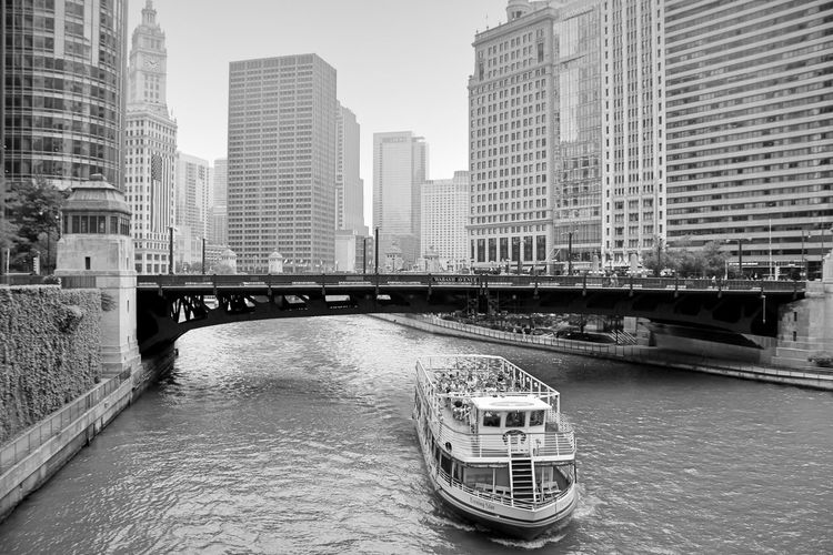 I'm much more me when I'm with you. Architecture Bridge - Man Made Structure Building Building Exterior Built Structure Canal Chicago Chicago River Chicago River Boatrid Chicago River Boatride City City Life Cityscape Connection Day Modern No People Office Building Outdoors Sky The Way Forward Travel Destinations Showcase July