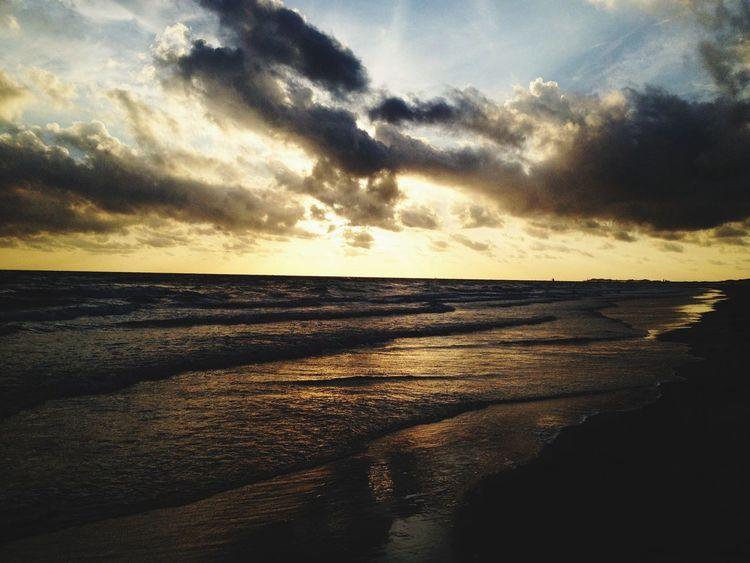 Nature Ocean Sunset