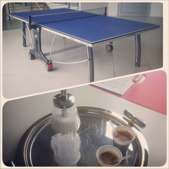 Coffeebreak Pingpong Extendo Interior design