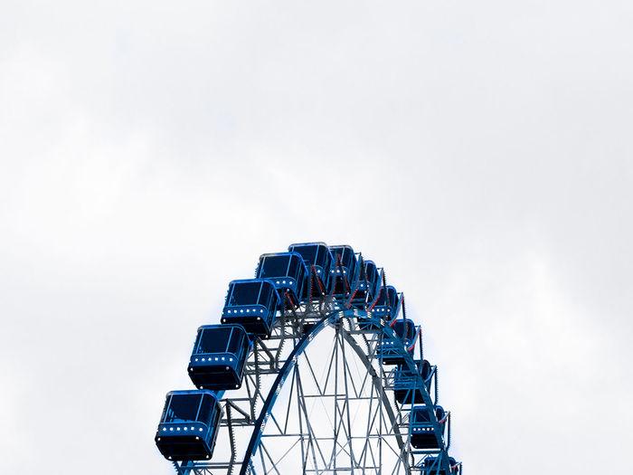 Ferris Wheel Amusement Park Ride Arts Culture And Entertainment Amusement Park Rollercoaster Traveling Carnival Sky Big Wheel