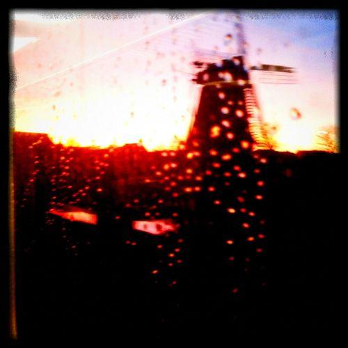 Viewer from the train! :) Commuting Sunrise GoooooodMorninggggg ! :)