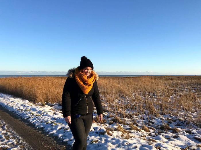Winter walk by