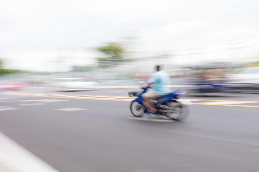 motorcycle with motion blur Bangkok Bike Fast Motion Motion Blur Motor Motorbike Motorcycle Move Movement Outdoors Pan Pan Photography Road Slow Shutter Slow Shutter Speed Street Thailand Traffic Travel