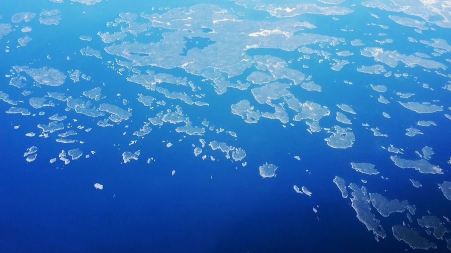Aerial View Of Islands On Archipelago Sea