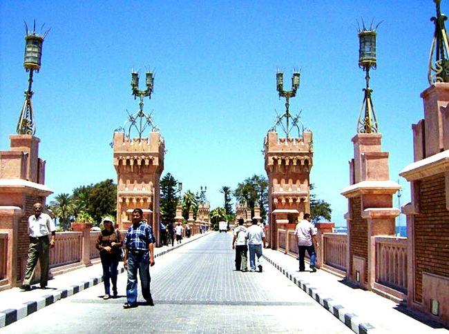Alexandria Alexandria Egypt Bridge Elmontazah El Montazah