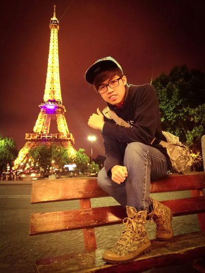 Paris by night ? First Eyeem Photo