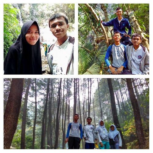 Kata equipment division sih cukup sampai sini dulu wkwk Jelek2in muka udh cape hiking pula wkwk with my friend Bogor Curugcilember Nature