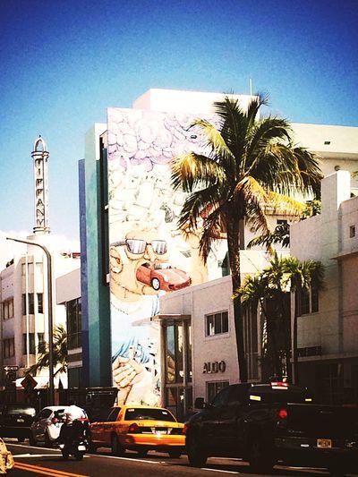 Miami Spring Break 2015 Girls Just Wanna Have Fun Street GrapicsEnjoying Life Taking Photos Hanging Out Streetphotography Street Art