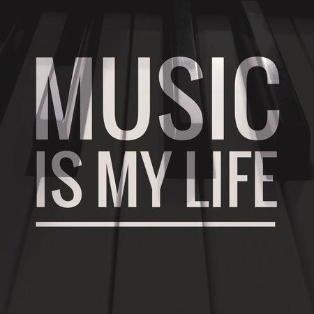 Music is my life ~dominogirl Dominogirl Music Life Piano