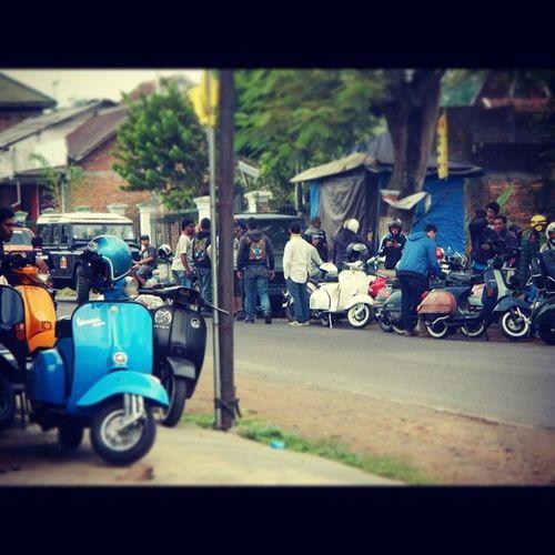BaksosRamadhanMalves2014 MalangVespa Malang Vespa BrotherHood Scooteraphy