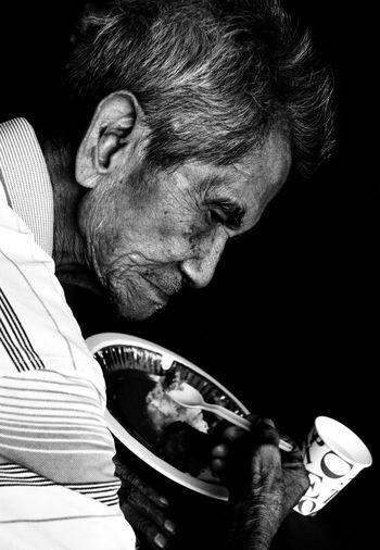 Veteran old man