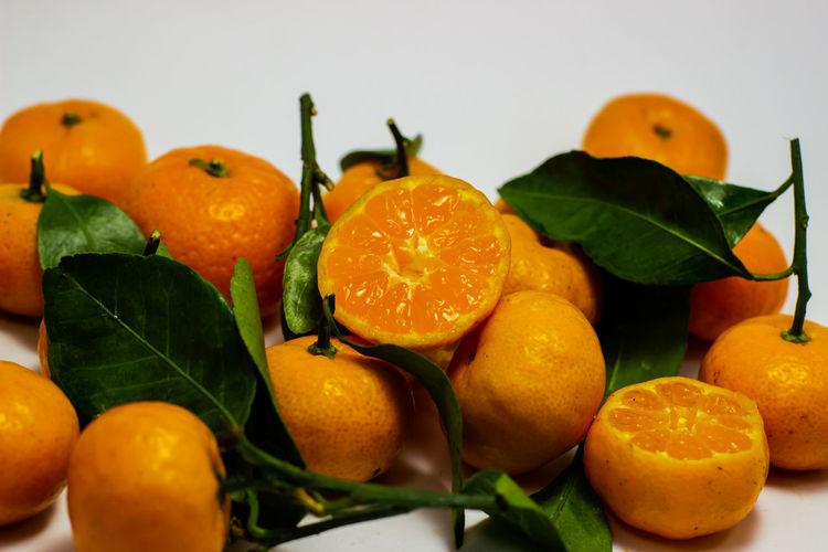 Close-up of orange fruits