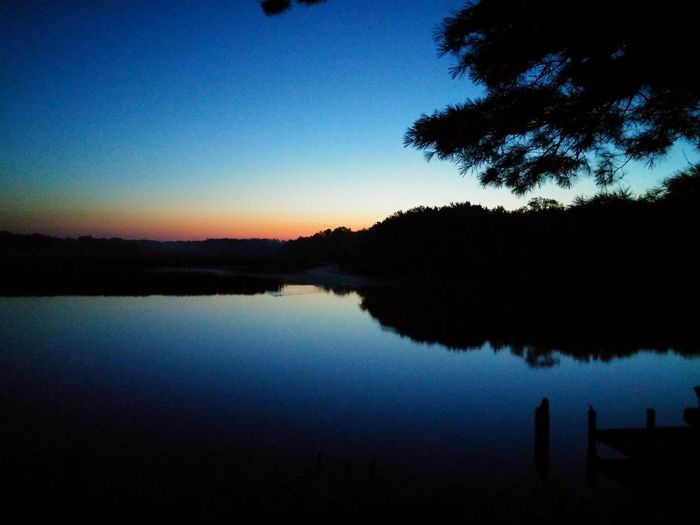 Good Morning August. Big River Water Scape Nature Wolf River Reflection Sunrise Beautiful Peace