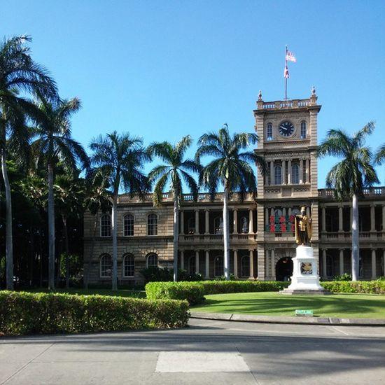 Lateupload Kingkamehameha Honolulu  Hawaii History Statue SunnyDay NoFilter