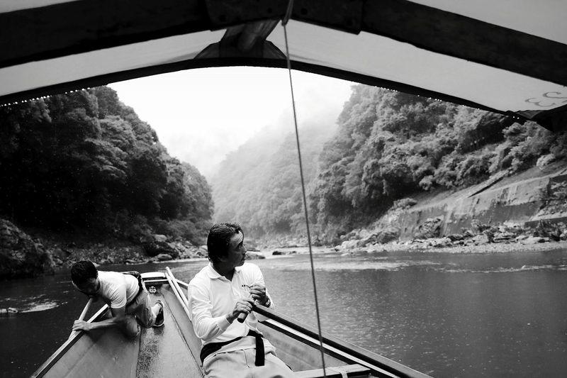 River Boat Noengine Kyoto,japan