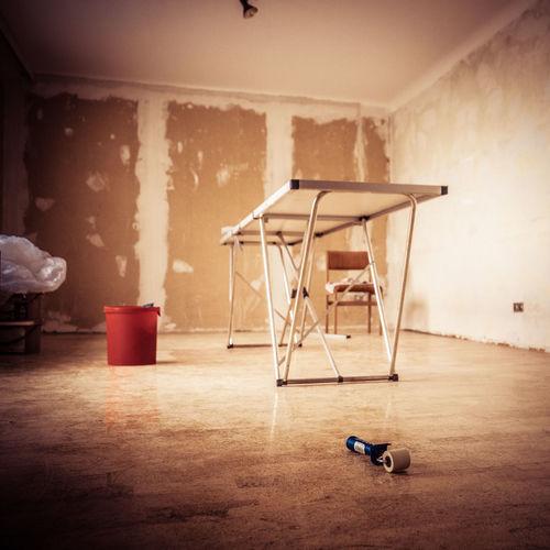 Home Improvement Room Work Indoors  No People Paint Roller Paperhanging Tools