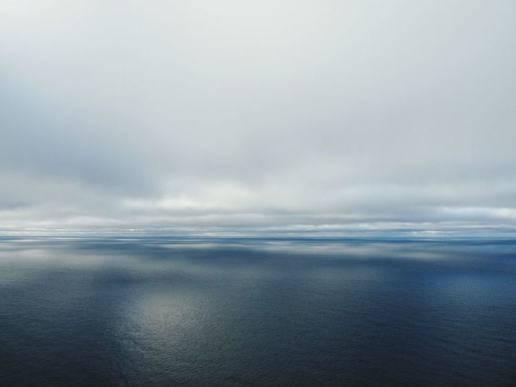 Nordkapp Ocean Clouds And Sky Light And Shadow