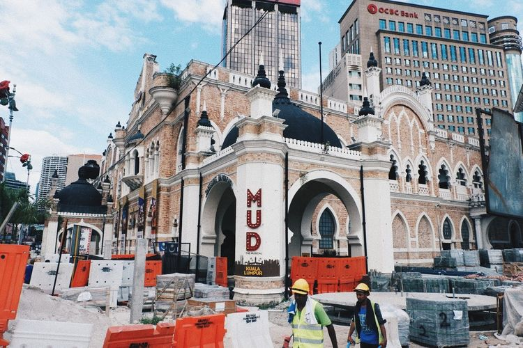 Renovation Architecture Built Structure Building Exterior Building Religion Belief Spirituality Place Of Worship City Day History Text The Past No People Sky Travel Destinations Low Angle View Outdoors