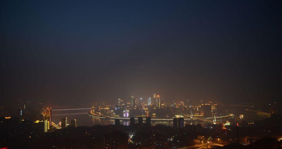 重庆 印象 中国 灯光 夜晚