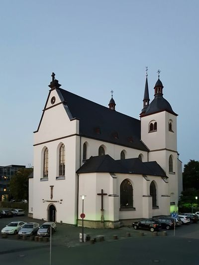 Little Church Church Kirche Rhein Rheinufer Cologne Köln