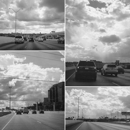 Taking Photos Clouds And Sky Dramatic Sky I35 Freeway Fuji X100s On The Road