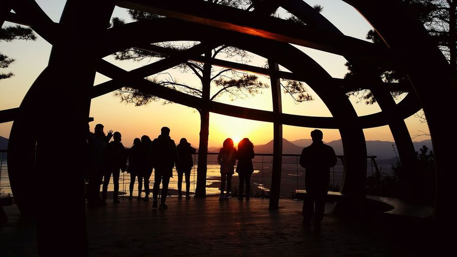 순천남 Sonnenuntergang