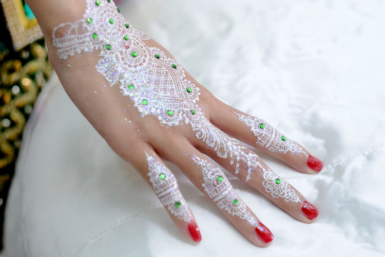 henna art Painting Fingernails Toenail Pedicure Human Feet Womenswear Human Leg Manicure Sequin Nail Art