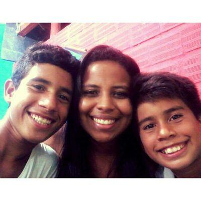 Finalzinho do domingo, lanchinho com os irmãos! *-* RobsonLuiz Ricardinho Brothers Amores