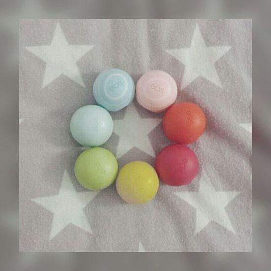 EOS Lipbalm Vanilla Mint Star